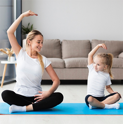 Family Yoga in Dubai